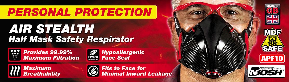 Stealth Half Mask Respirator